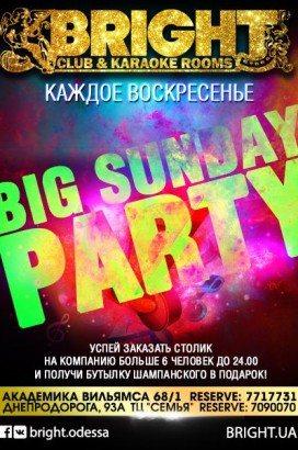 Big Sunday Party